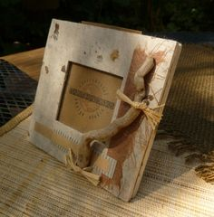 Handmade Photo Frame - ECO-Upcycled-Green Products