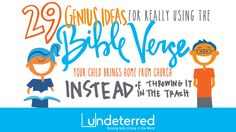 29 Genius Ideas to use that #BibleVerse - OneHope.net/undeterred