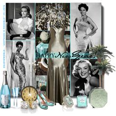 """New Contest: ""Vintage New Year's Eve"""" by enjoyzworld on Polyvore"
