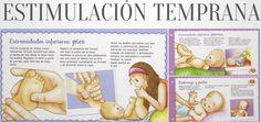 Estimulación Temprana niños y bebes El masaje shantala en imagenes