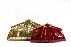 ANALEENA - Classic Crocodile Clutch