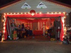 CarnEvil garage set up