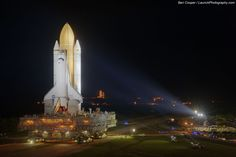 Last Roll Out of a NASA Space Shuttle