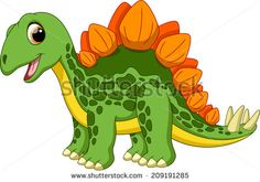 Illustration about Cute stegosaurus cartoon with white background. Illustration of devonian, freak, cretaceous - 43474444 Cartoon Wall, Penguin Cartoon, Baby Dinosaurs, Cute Dinosaur, Dinosaur Birthday Party, Zoo Animals, Baby Quilts, Cute Pictures, Doodle