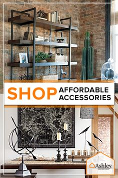 Put the finishing touches on any look with accessories from Ashley Homestore. Bedding, rugs, wall d_cor, pillows and more are all waiting to help turn your house into a much more comfortable home, at Ashley Homestore.