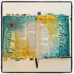 bible art or Journal