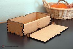 Magnetic Hinge Box - MDF