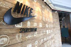 Nike sportswear wall
