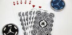 custom playing cards air jordan