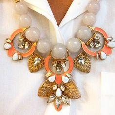 Riveria Statement Necklace | Stella & Dot Just beautiful! www.stelladot.com/LuLuLauren This is a piece of art- & detachable too!