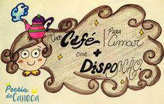 acredite, é preciso disposição pra amar ♥ #ilustração #poesia #poesiadecaneca