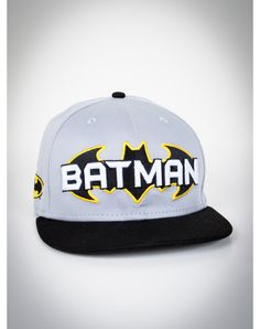 New Era Batman Logo Snapback Hat