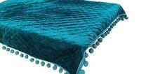 Teal Bedspread, Teal Comforter, Velvet Bedspread, Velvet Quilt, Green Quilt, Twin Quilt, Cotton Lights, Bed Spreads, Baby Quilts