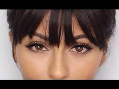 How To Use Clip-In Bangs | 12 Days of Christmas Giveaway! - YouTube
