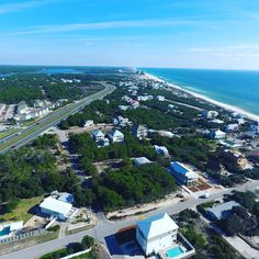 Inlet Beach, FL from up top.
