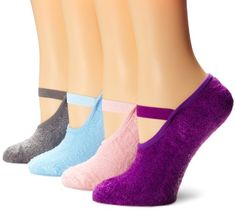 Muk Luks Women's Buttercreme Maryjane with Aloe 4 Pair Pack , Multi, One Size: Solid colors with non-slip grip soles Short Kimono, Boutique Clothing, Boutique Shop, Patterned Socks, Slipper Socks, Funky Fashion, Women's Socks & Hosiery, Womens Slippers, Mary Janes
