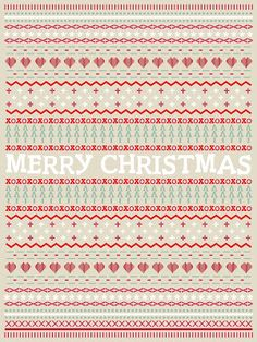 FREE Ugly Sweater Typography Printable