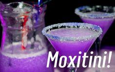 Purple themed drinks