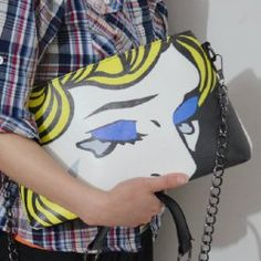 Wholesale Ethnic Style Women's Crossbody Bag With Metal Chain and Color Matching Design (AS THE PICTURE), Crossbody Bags - Rosewholesale.com