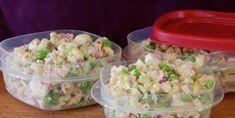 Pour les lunchs de bureau, cette salade de pâtes au thon est le dépanneur parfait des midis pressés! - Cuisine - Trucs et Bricolages Parfait, Cold Meals, Potato Salad, Lunch Box, Food And Drink, Calories, Cooking, Ethnic Recipes, Cold Food