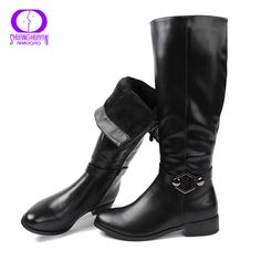d93886f6166 AIMEIGAO High Quality Knee High Boots Women Soft Leather Knee Winter Boots  Comfortable Warm Fur Women Long Boots Shoes   Price   56.04   FREE Shipping       ...