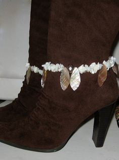 Cowboy Boot Bracelet Southwestern Style White by LadyLisaDesigns, $12.00