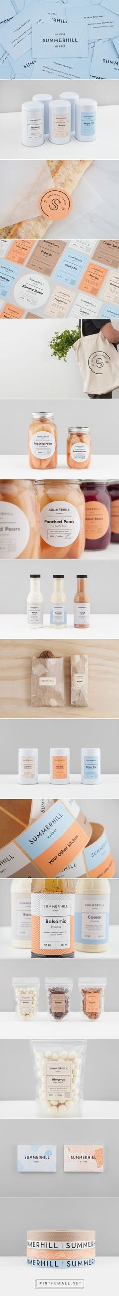Summerhill Market Food Branding and Packaging by Blok Design | Fivestar Branding Agency – Design and Branding Agency & Curated Inspiration Gallery