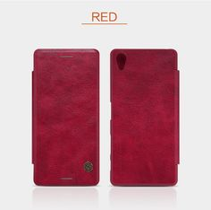 Nillkin Original Qion Series Flip Leather Wallet Mobile Cover Case For Sony Xperia X Performance Protection Bag Phone Shell