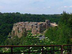 Calcata, Province of Viterbo, Lazio region, Italy.