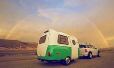 imagen 10 de Happier Camper, caravanas retro para escapadas 'más felices'.