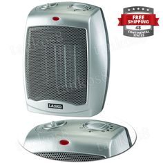 · Automatic overheat protection for safety; convenient carrying handle. · Adjustable Thermostat Control for Personalized Comfort. · Manual controls; self-regulating ceramic element; quiet operation. · 3 Quiet Settings: High Heat, Low Heat, Fan Only. | eBay!
