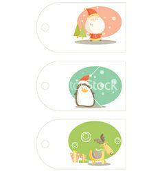 Christmas labels vector 108320 - by kariiika on VectorStock®