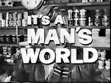 It's a Man's World - (1962-63). Starring: Glenn Corbett, Michael Burns, Ted Bessell and Randy Boone. Partial Guest List: Max Baer Jr., Dawn Wells and Harold Gould.