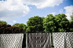 """""""Kraty"""" is a collection of decorative fabrics by the """"Falbanka"""" duo – Izabela Sroka and Julia Cybis. The reason for its creation was a search for interesting fabrics with modern design and local character as well as the shared passion for the Polish post-war pattern designs."""