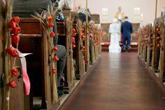 Herbstliche Stadthochzeit in Rot und Orange in London | Hochzeitsblog The Little Wedding Corner