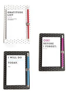 Before I Forget, Stationary Items, Positive Messages, Inspirational Gifts, Creative Design, Positivity, Optimism