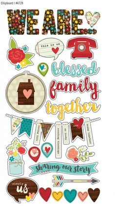 Summer 2015 Reveal Day 4 - We Are...Family   Simple Stories