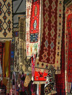 Carpets in Skopje, Macedonia