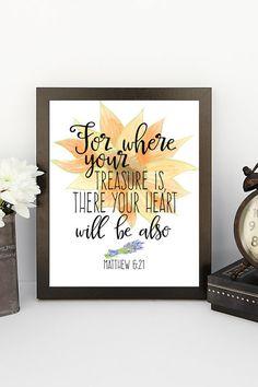 Printable Verses Scripture Wisdom wall art by PrintableVerses
