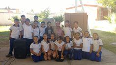 Entrega Miguel Riggs apoyos escolares en primaria José Vasconcelos | El Puntero