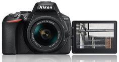 This is the new Nikon DSLR camera - Nikon Rumors Secure Digital, Digital Camera, Fish Eye Effect, Nikon D5600, Nikon Cameras, Optical Image, Cmos Sensor, Wide Angle Lens, Lens Flare