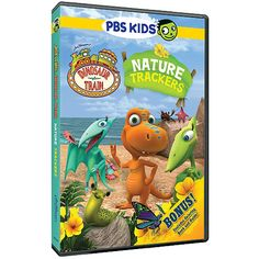The Official PBS KIDS Shop | Dinosaur Train Nature Trackers DVD - DVDs - DVDs, Blu-ray & CDs