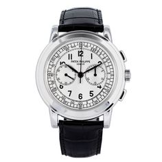 Patek Philippe White Gold Oversized Chronograph Wristwatch Ref 5070G | 1stdibs.com