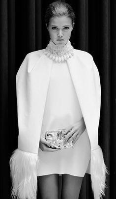 The Millionairess of Pennsylvania: White wardrobe is pure luxury