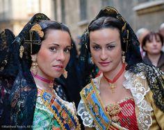 """Fallera"" dress, Valencia, Spain"