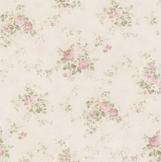 Carolina Blush Rose Bouquet Wallpaper