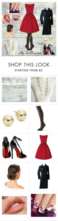 """""""WWII - Rainy Date Night"""" by dadrumma ❤ liked on Polyvore featuring Wall Pops!, Lord & Taylor, Hanes, Posh Girl and Marc New York"""
