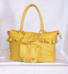 Leather handbagpurseleather purselarge by ghigiarelli on Etsy