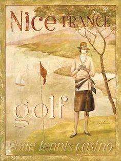 Vintage Ladies Golf