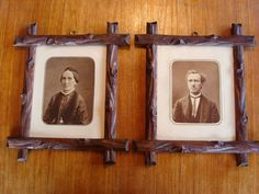 Victorian HANDMADE Picture Frames with by ApplegateAntiques, $125.00